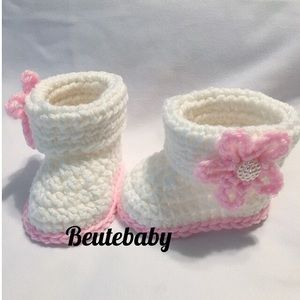 Other - 0-3 Month crochet baby boots